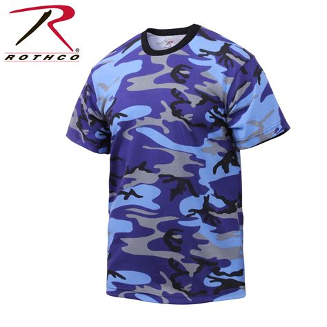 colored shirts rothco colored camo t shirts 8993 ebay