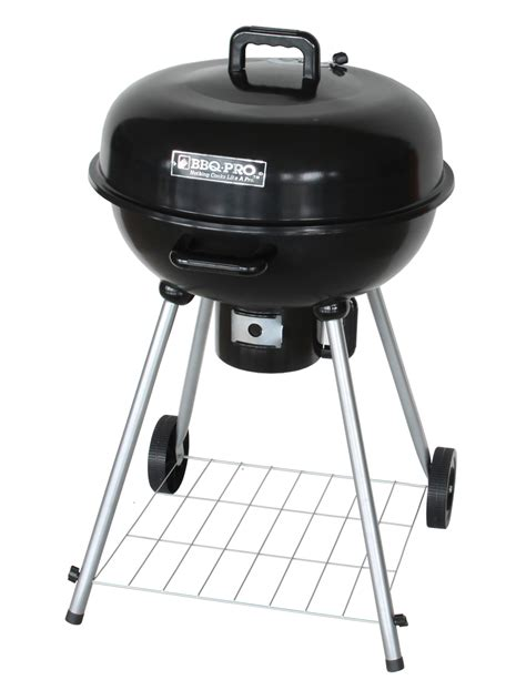 backyard grill 22 5 inch kettle charcoal grill bbq pro 22 5 quot round kettle grill outdoor living grills outdoor cooking