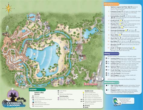 typhoon lagoon map typhoon lagoon map kennythepirate