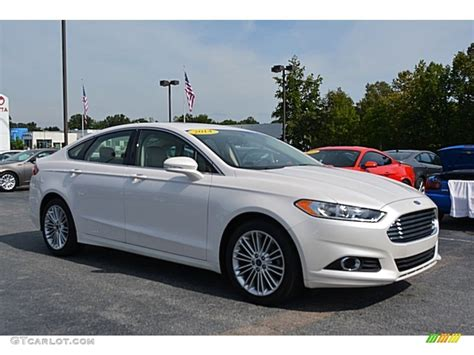 2014 ford fusion colors 2014 white platinum ford fusion se ecoboost 115251015