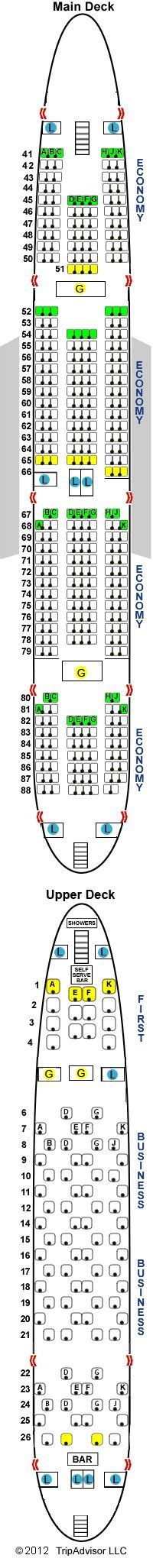 emirates plane seating 48 best airline seat chart images on pinterest aircraft