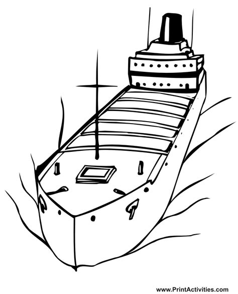 vessel coloring pages