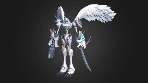 digimon  omnimon merciful mode    model