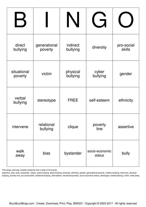 diversity bingo template custom bingo cards to print and customize