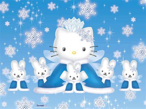 wallpaper hello kity biru hello kitty winter hello kitty wallpaper 918687 fanpop