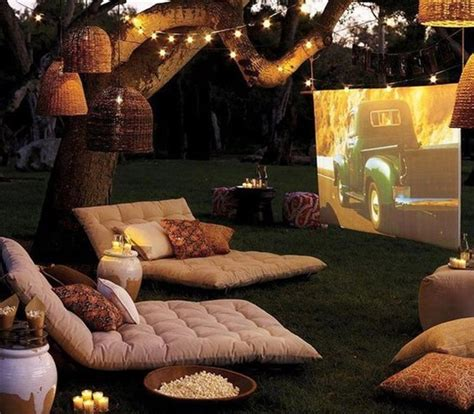 cinema decor for home 20 most beautiful outdoor home theater ideas house