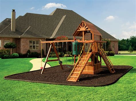 backyard playground mulch backyard playgrounds playgrounds and homes easy playground design with its