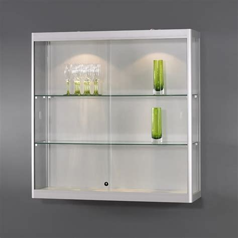 wall mounted glass display cabinet notice board company wall mounted glass display case
