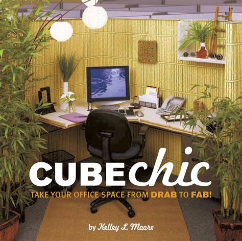 office cube decor cube chic quirk books publishers seekers of all