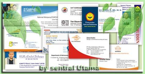 desain kartu nama toko online sentralutama toko online terpercaya stempel id card di cimahi
