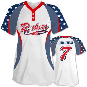 jersey design elite unique patriotic softball jersey custom sublimated