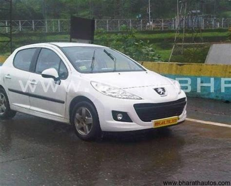 peugeot india spied peugeot 207 508 in india video
