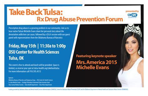 take back tulsa rx abuse prevention forum tulsa