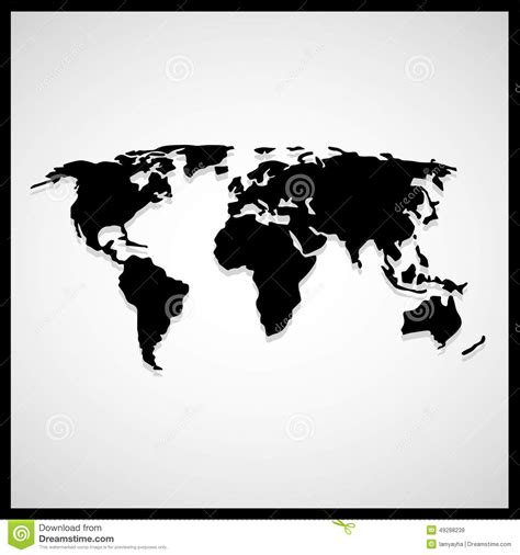 world map black and white vector 10 black white world map vector images free vector world