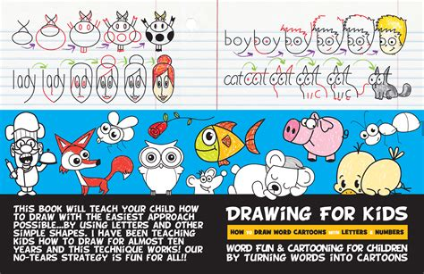 pictures into books cartooning for children by turning words into
