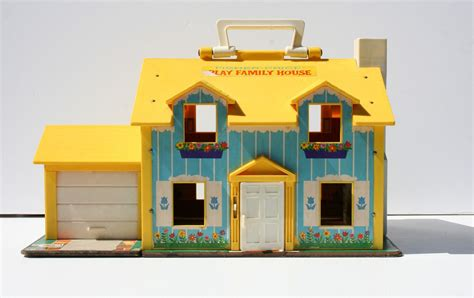 fisher price old doll house vintage 1969 fisher price play house doll house model 952