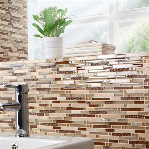 mosaic tile sheets kitchen backsplash tiles