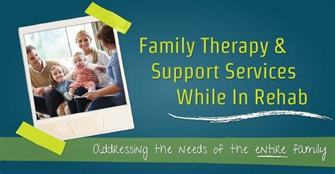 Family Services Detox by Family Therapy And Support Services While In Rehab
