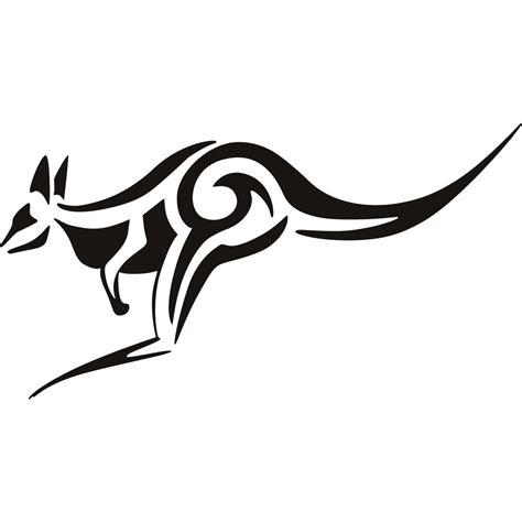Australian Animal Wall Stickers top boxing kangaroo drawing tattoo tattoo s in lists for