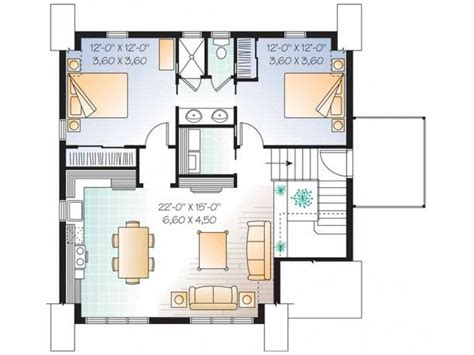 Two Room And Garage Plan by Shedfor Garage Apartment Plans 2 Bedroom
