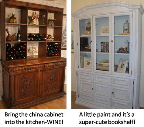repurpose old china cabinet divine consign repurposing china cabinets