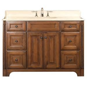 water creation spain 48 traditional single sink bathroom