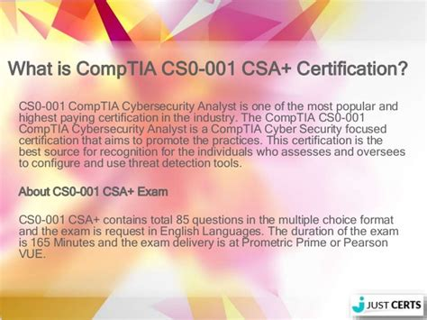 comptia csa guide cs0 001 cybersecurity analyst certification books comptia cybersecurity analyst cs0 001 csa braindumps