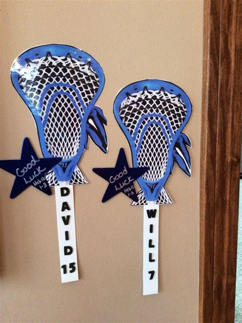 Lacrosse Decorations by 1000 Ideas About Locker Tags On