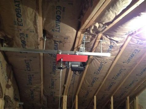 Garage Storage Lift Diy 25 Best Ideas About Attic Lift On Garage Lift