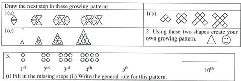 position pattern rule algebra