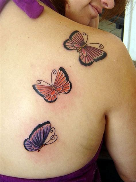 3 butterfly tattoo butterfly designs for