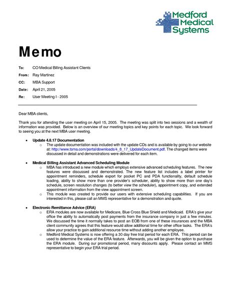 Memo Sle In Tagalog memorandum format exles and forms