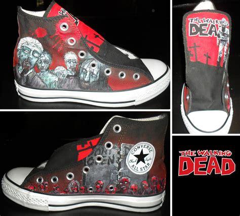 walking dead converse part 1 by gamergirl84244 on deviantart