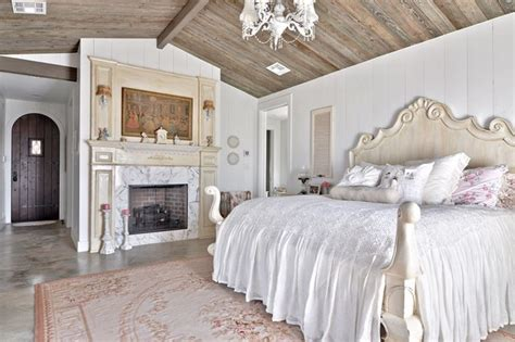 Shabby Chic Wall Mural romantic hill country dream shabby chic style bedroom