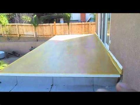 2nd story balcony repair waterproofing