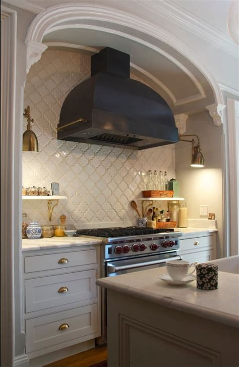 Arabesque Tile   kitchen backsplash   Westside Tile and Stone