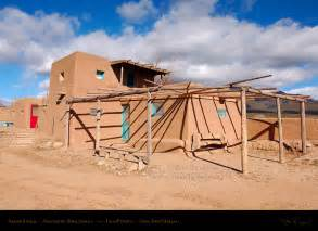 Pueblo Adobe Homes taos pueblo adobe house and kiva hs6547