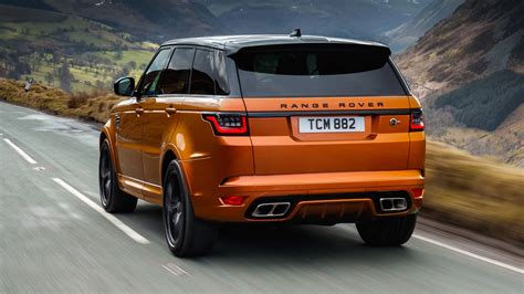 orange range rover svr range rover sport svr review mad 567bhp suv tested top