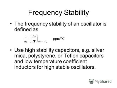 ptfe capacitor temperature coefficient презентация на тему quot unit 8 oscillators condition for oscillations rc phase oscillator with
