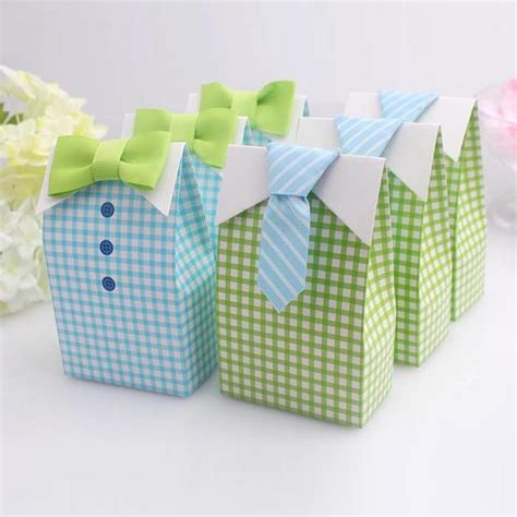 Bow Tie Baby Shower Favors by 20 Pcs Blue Green Bow Tie Birthday Boy Baby