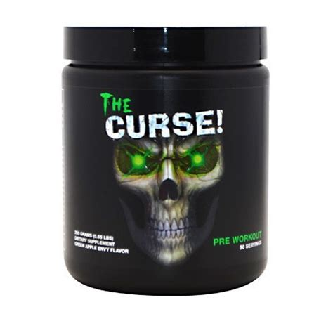 The Curse 50 Serving Pre Workout Cobra Labs Pre Work Out Preworkout cobra labs the curse green apple envy 50 servings lifestyle updated