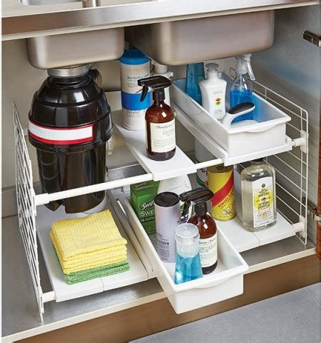 lazy susan cupboard comocriarfacebook com 42 bathroom storage hacks that ll help you get ready faster