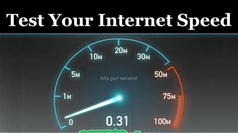 my speed test speed test