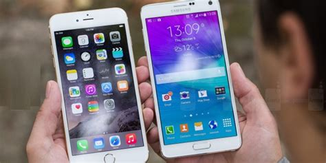 iphone 6 plus vs samsung galaxy note 4 world s