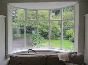 bay window feature with garden view olpos design