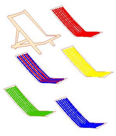 deck chair template hut pop up cards free templates made