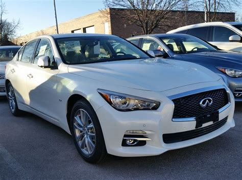 infiniti nissan 2016 2016 infiniti q50 2 0t white woodchester nissan and