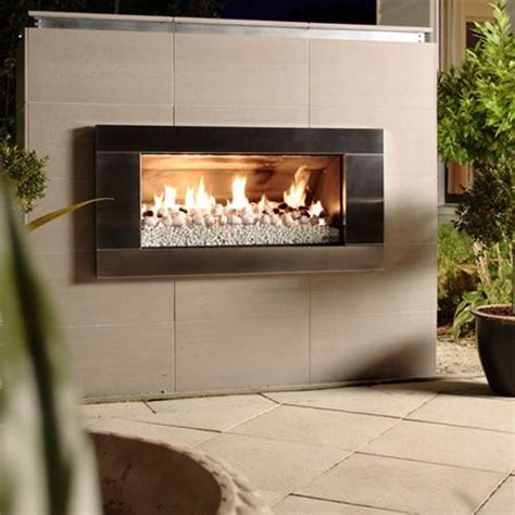escea ef5000 outdoor gas fireplace stainless steel
