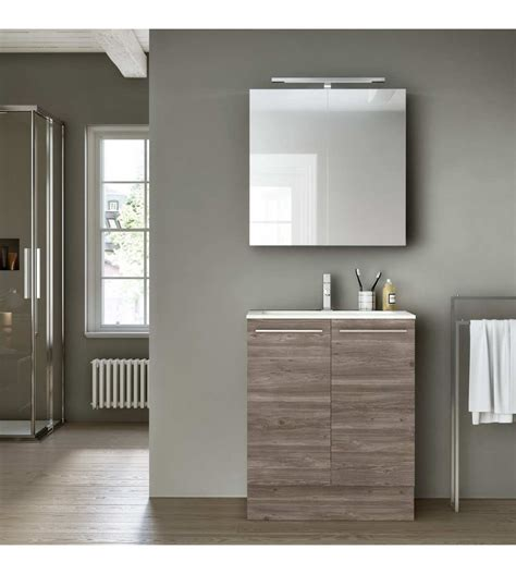 mobile bagno a terra hafro geromin change 49 cm 70 con