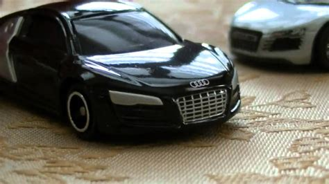 matchbox audi tomica vs matchbox audi r8